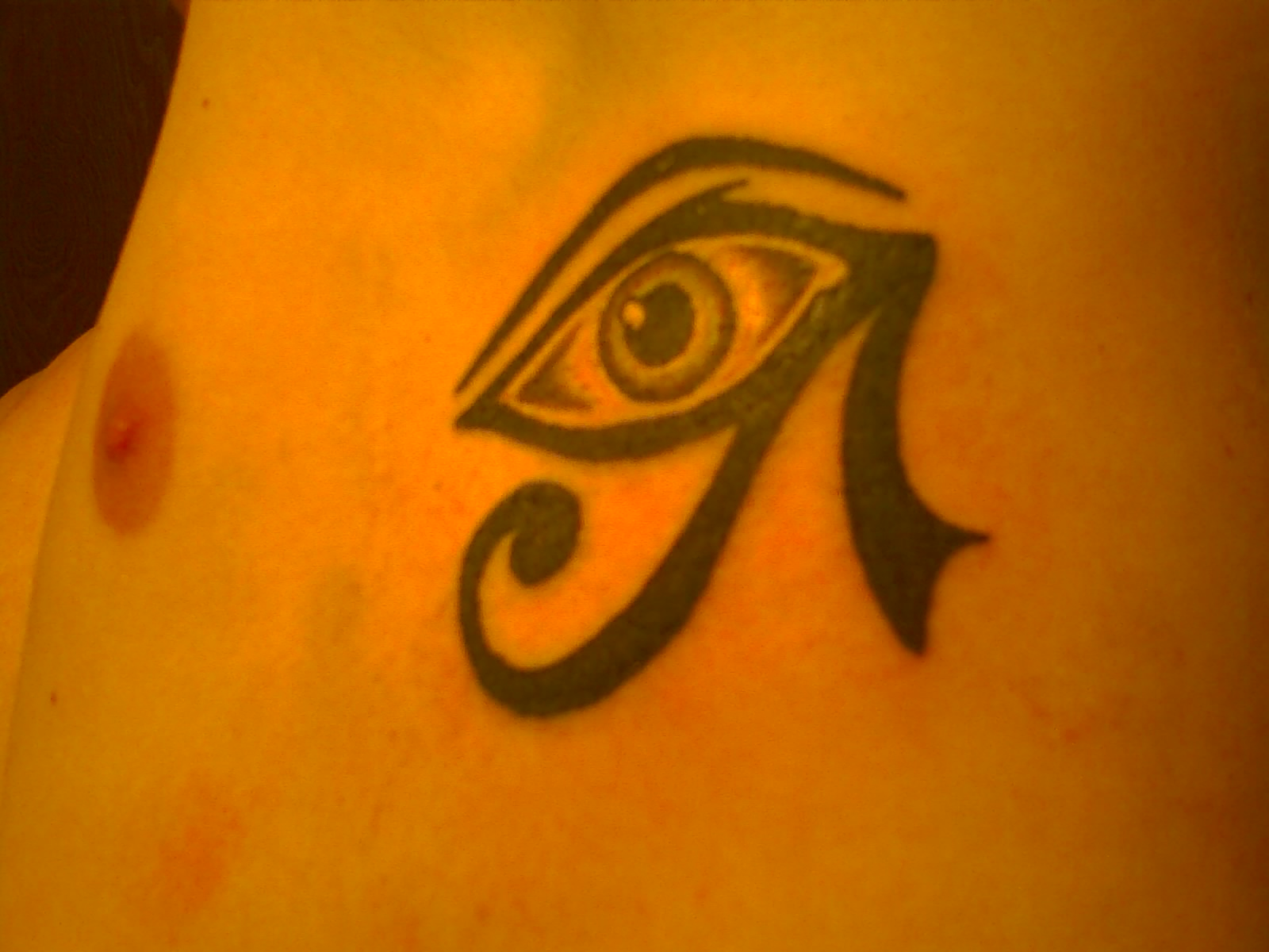 egyption eye tattoo picture