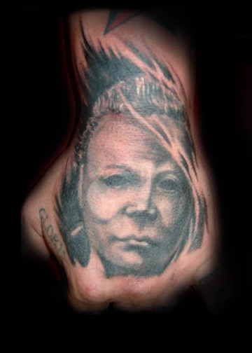 Michael myers by chris saint clark tattoo picture for Michael myers tattoo