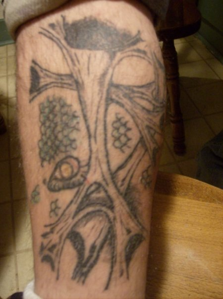 my calf piece