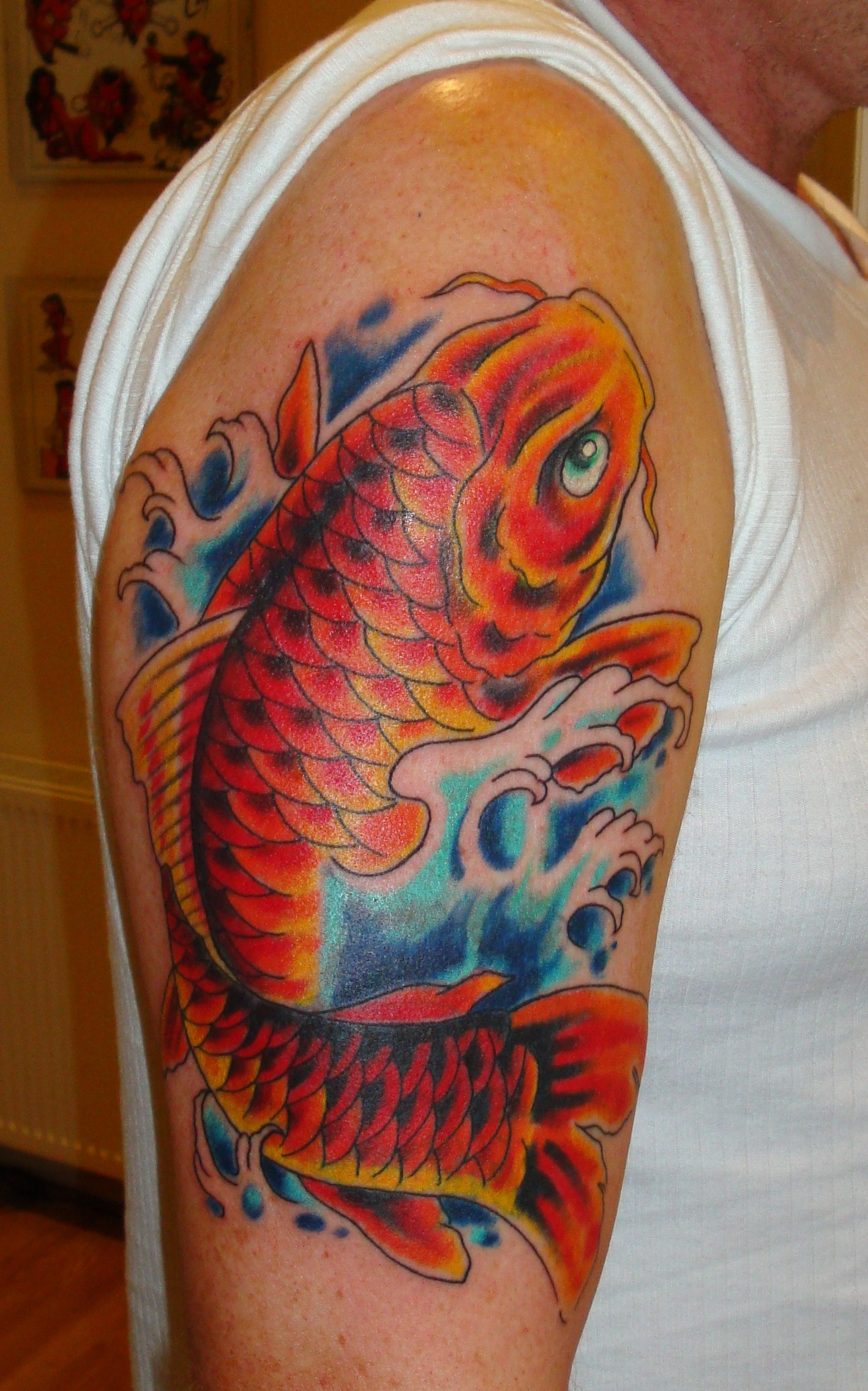 Koi Cover Up Pictures to Pin on Pinterest - TattoosKid