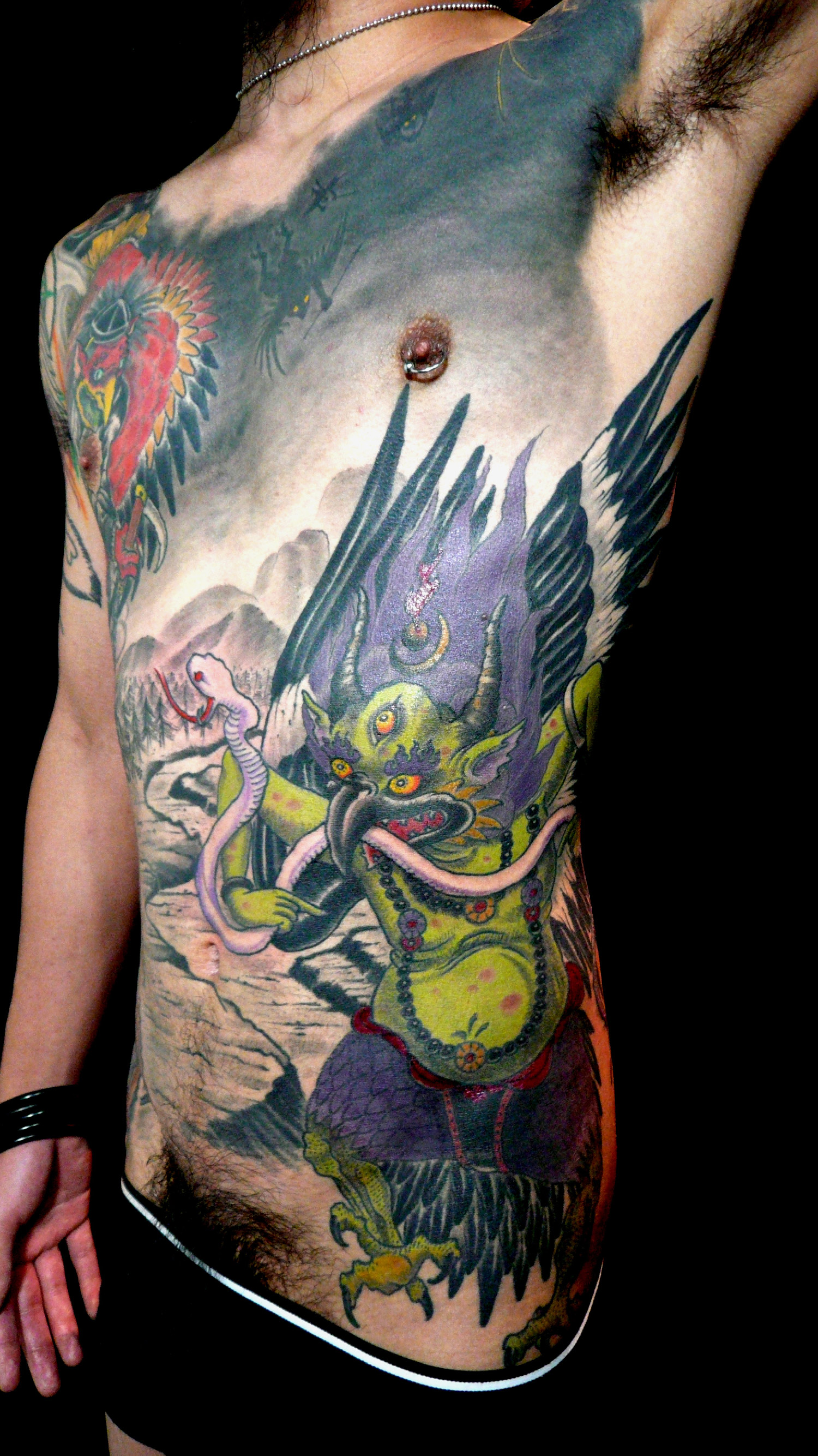 28 yokai tattoo yokai tattoo elaxsir image result for Tattoo parlors in springfield mo