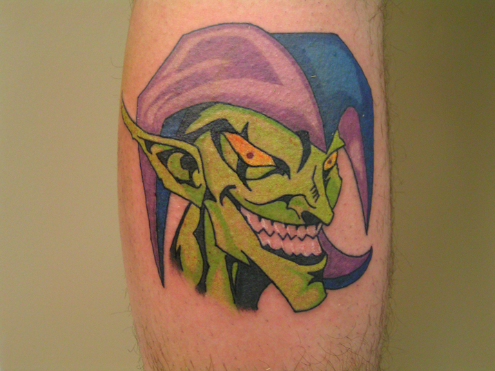 anus tattoo goblin