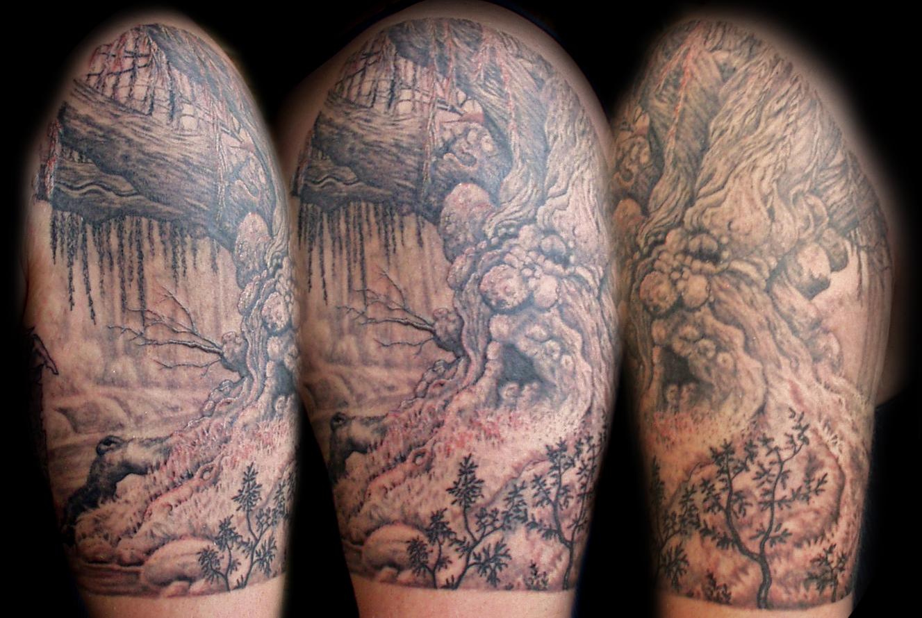 Men Half Sleeve Tattoo Designs
