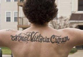 Spider Tatto on Amat Victoria Curam Tattoo Picture
