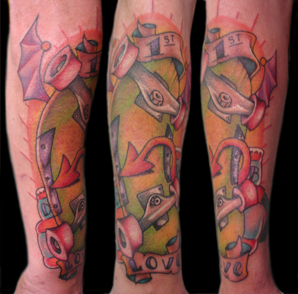 Skateboard Tattoo by ~ashhimself on deviantART skateboarding tattoos