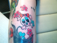 skull and crossbones...Girly style!