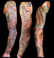 Industrial sleeve
