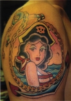 Pirate Pin Up