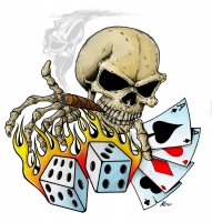 Skull Dice and Cards