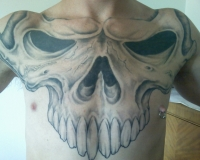 wicked skull(chest)