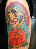 COLORFUL VIRGIN MARY BY ALEX @ XTREME
