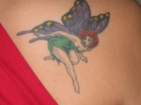 Butterfly fairy coverup
