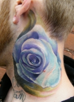 Rose on Neck