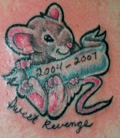 Cartoon Rat Memorial