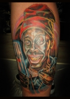 Tyrone Biggums tattoo by Beto Munoz