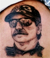 Dale Earnhardt Memorial Tattoo
