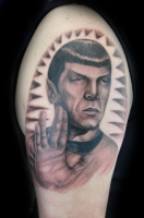 Spock by Chris Saint Clark