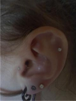 still need an industrial, cartilage peircings, and gaged to at least 1/2