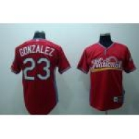 2009 mlb all star padres #23 gonzalez red
