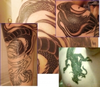 Dragon Chest to Arm