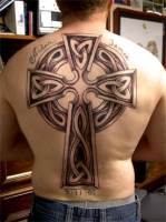 celtic back piece