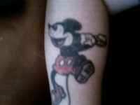 Punk Rock Mickey
