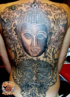 Buddha Full Back Piece