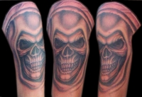 Grim reaper arm & shoulder