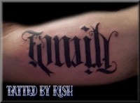 Family/Friends Ambigram