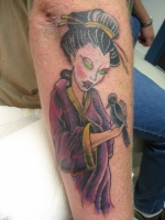 Geisha Girl (cover-up)