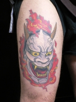 hannya mask by gotch