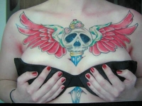 freehand chest