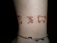 Wolf Anklet 3
