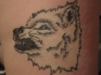 Wolf Tattoo Number 2