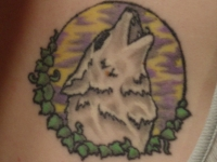 Wolf Tattoo Number1