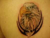 eagle backpiece