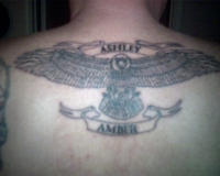 Eagle with my girls name