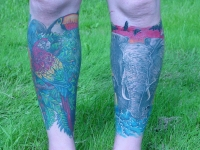 FRONT OF BOTH LEGS DONE