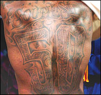 50 Cent's Tattoos