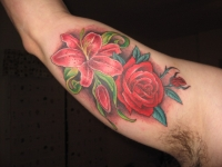 my lily and rose tattoo picture