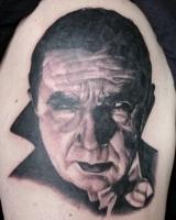Bela Lugosi Tattoo Picture