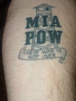 Mia pow tattoo picture for Pow mia tattoo