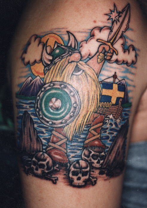 Swedish Viking Tattoos